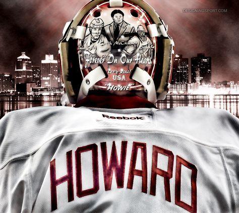 Jimmy Howard, Detroit Red Wings @ designingsport.com