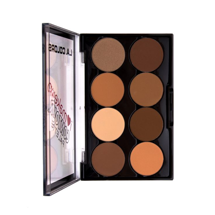 Compare to expensive high end palettes. I've been using this for 3 weeks, and I love it. Powder base, easy to blend. Especially perfect for girls with oily skin! Also has a banana shade which is really brightening and pretty in pictures ♡♡♡