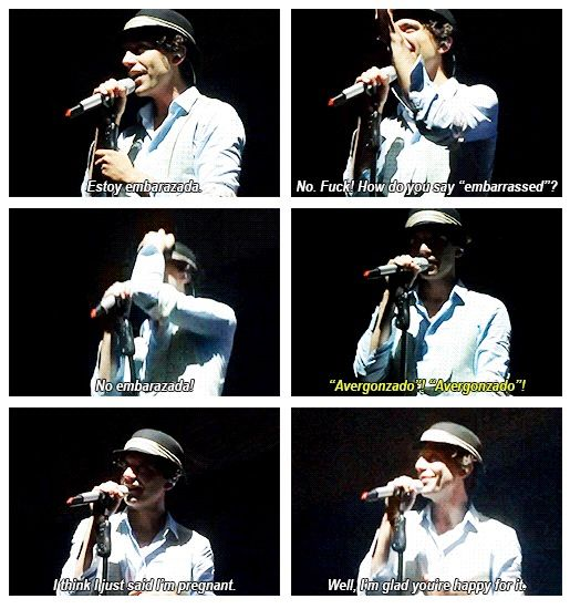 Mika accidentally said he's pregnant @ Fàcyl Festival, Salamanca SPAIN - 8 June 2013