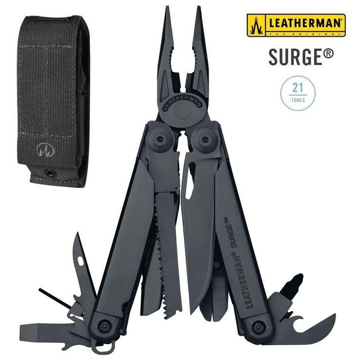 Leatherman - Surge Black - pinza multiuso