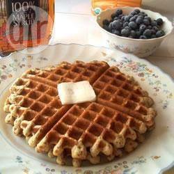 Waffles de Harina Integral @ allrecipes.com.ar