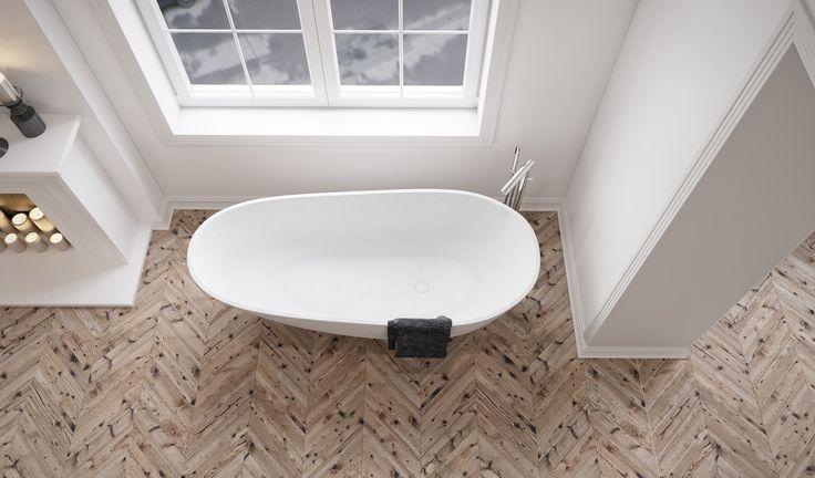 Farsø bathtub from Copenhagen Bath.