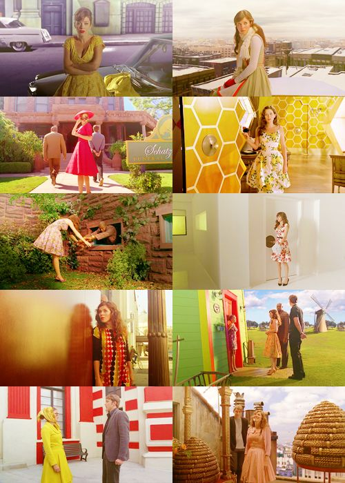 Chuck (and her beautiful dresses) from Pushing Daisies