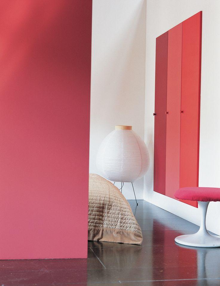 Slaapkamer In Rood : Rood en oranje laten zich prima combineren in de ...