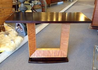 Paul Frankl for Brown Saltman console table c.1940's 41 3/4w x 18d x 29 1/2h Dealer CK $2,950