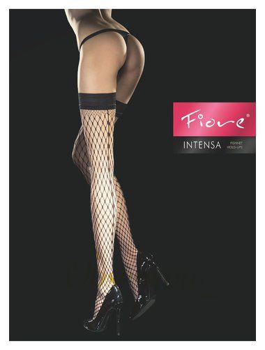Foarte sexi, cu banda adeziva siliconata. Varf intarit invizibil. Calitate si eleganta. #ciorapi #plasa #fiore