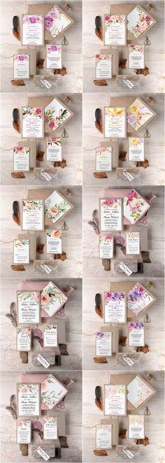Rustic country kraft paper wedding invitations #rusticwedding #countrywedding #weddingideas