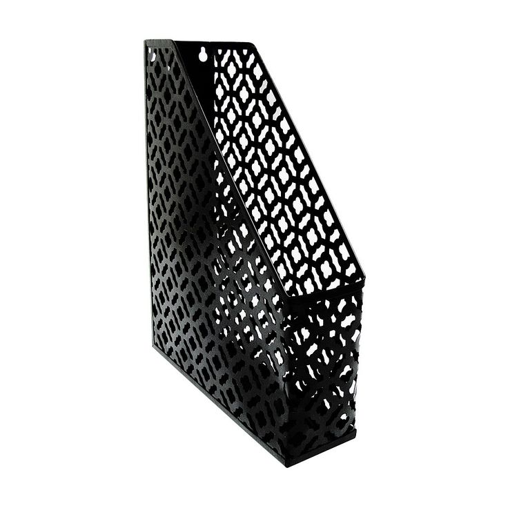 Choose from a selection of storage accessories available in a range of styles & colours for the home. Order online at Briscoes & we will deliver to your door., Bijou Blossom File Holder Black