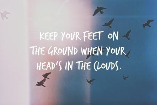 Keep your feet…
