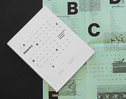 """Check out this @Behance project: """"Itinerary"""" https://www.behance.net/gallery/27658673/Itinerary"""