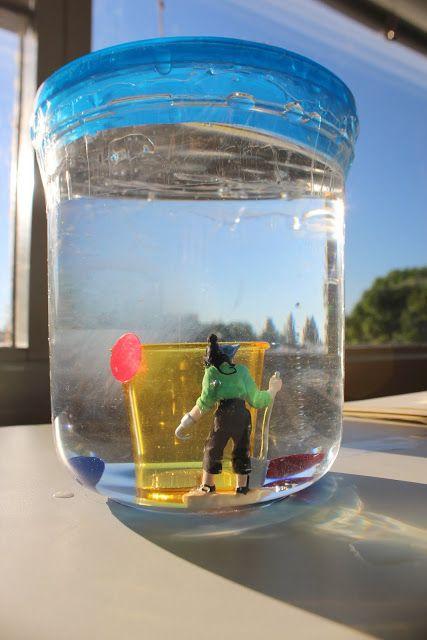 Ромашки для Ромашки: Пиратская сенсорная игра в бутылке