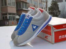 Nova inglaterra 2014 marca homens causual Yeah2 apartamentos sapatas dos homens genuínos sapatos leatherLe Coq homens Sportif sapatos de lona sapatos(China (Mainland))