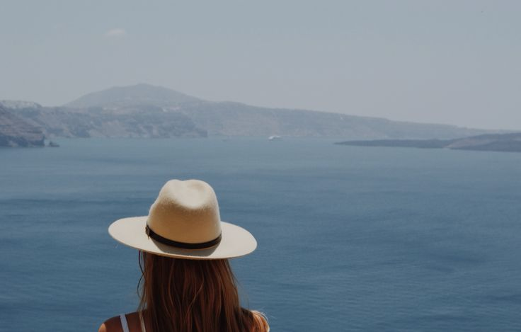 The Angie fedora is made from pure wool  #wool #texture #summer #santorini #travel #fedora