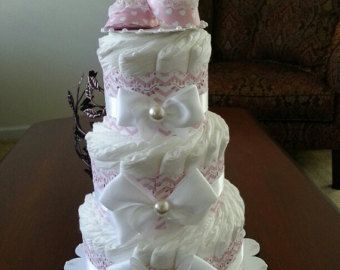 Gâteau bébé douche cadeau/pièce maîtresse 2 par InspiredbyElena