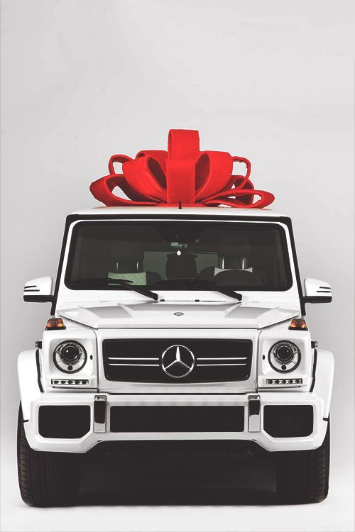 White Mercedes G Wagon AMG Wedding Transport To The Honeymoon