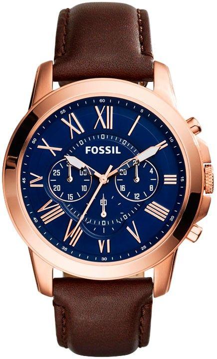Fossil Grant Chronograph FS5068 fra Klokker. Om denne nettbutikken: http://nettbutikknytt.no/klokker/