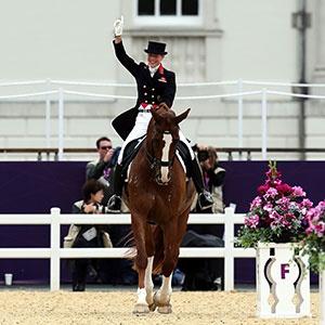 Team GB- Charlotte Dujardin wins Gold in individual Dressage.