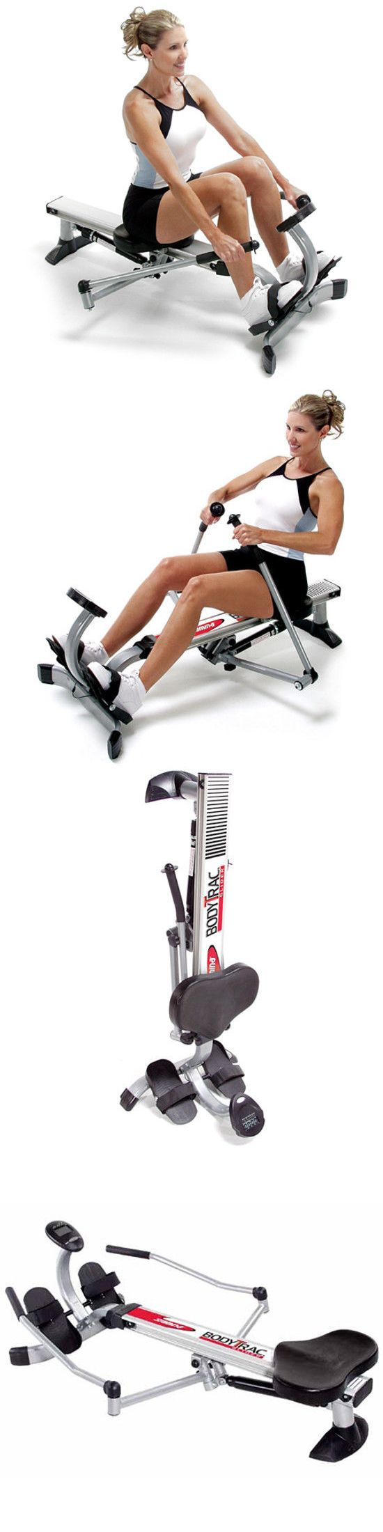 Rowing Machines 28060: Stamina Body Trac Exercise Fitness Portable Folding Glider Rowing Machine Yoga -> BUY IT NOW ONLY: $158.99 on eBay!