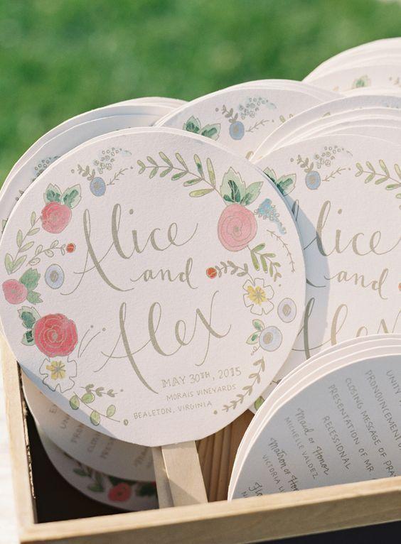 \暑い/夏の結婚式でやってあげたい!ゲストに向けたおもてなし4選♡にて紹介している画像