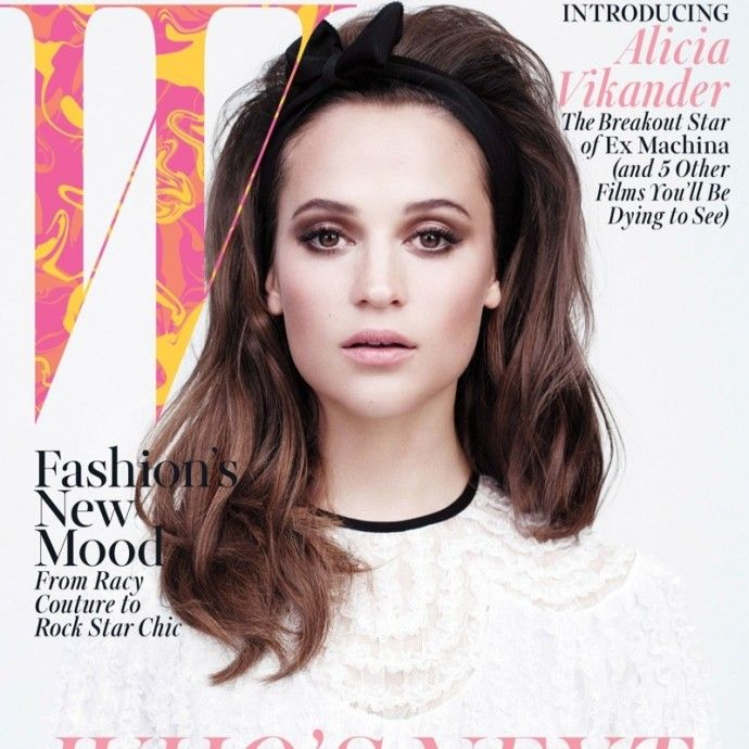 Alicia Wikander On The April 2015 Cover Of W Magazine #AliciaWikander, #celebs http://fashionstylesmag.com/2015/03/18/alicia-wikander-on-the-april-2015-cover-of-w-magazine/