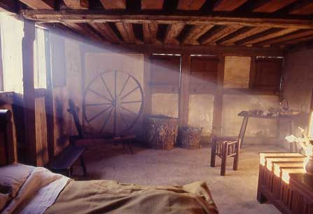 medieval peasant house interior middle ages pinterest