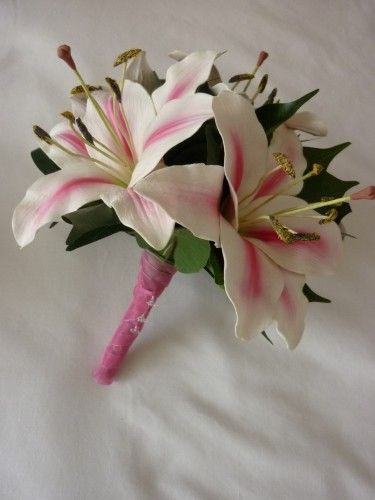 tiger lilly wedding flower bouquet - Google Search
