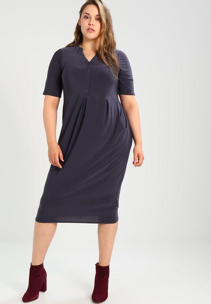 Evans SHIRT POCKET DRESS - Vestito estivo - cam grey - Zalando.it