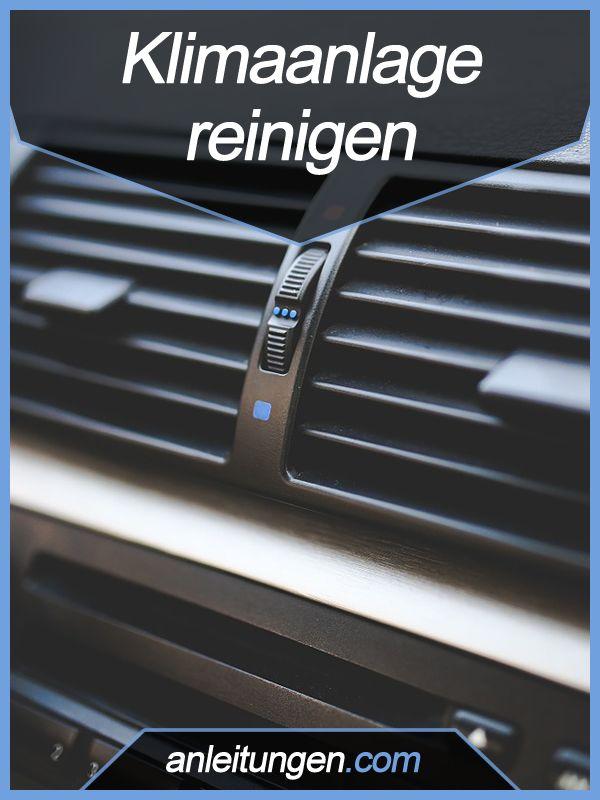 Klimaanlage reinigen - Der muffige Geruch in deinem Auto möchte einfach nicht verschwinden? Dann lies diesen Artikel und erfahre wie du das Auto wieder wie neu riechen lässt, indem du die Klimaanlage reinigst.
