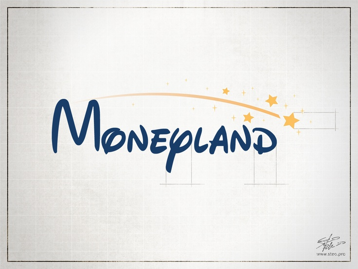 Moneyland - Playing with logo    [no copyright infringement intended]