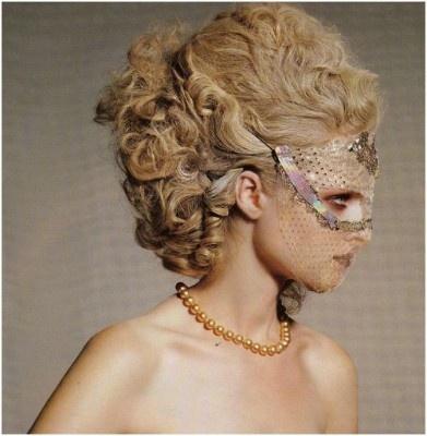 Marie Antoinette hair #rococco return