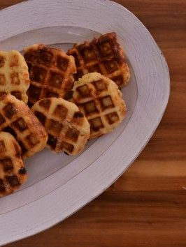 Sugar-Crusted Waffles... OMG, I've been looking for Pearl Sugar since going to Belgium, this is such a clever idea!