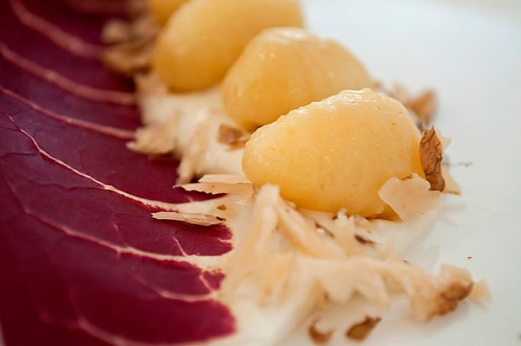 Gnocchi with Gorgonzola cheese and walnuts