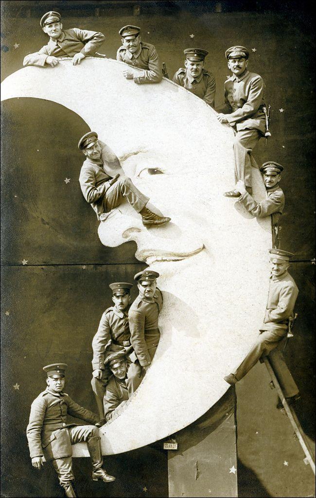 Portraits sur la lune portrait lune