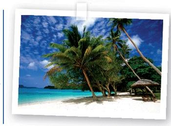 Espiritu Santo island of Vanuatu ...