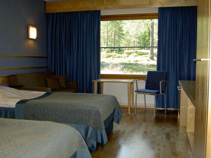 Room of Hotel Herkko, Taivalkoski, Lapland, Finland www.hotelliherkko.com