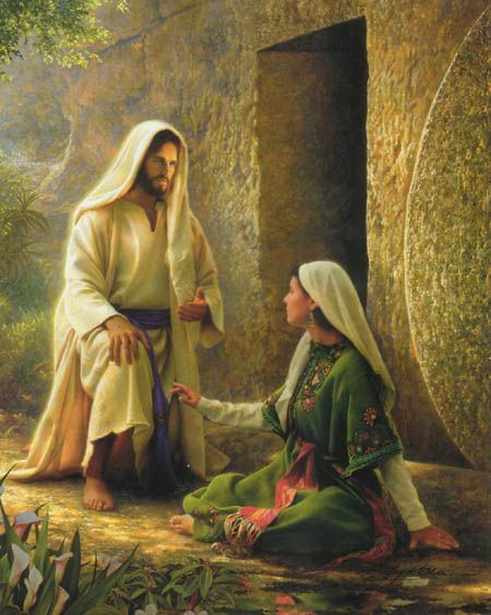 Mary Magdalene And Jesus | Foundations of My Faith: Jesus Appears to Mary Magdalene