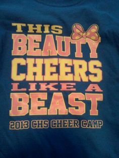Would Be Awesome For Mini Cheer Clinic