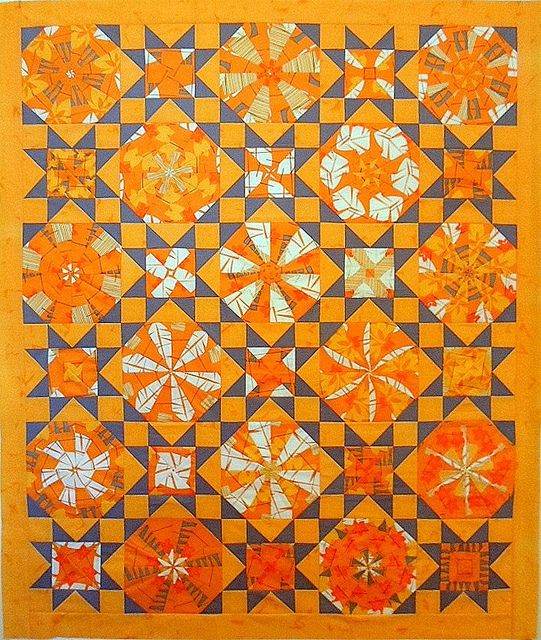 bright fabric index store fat bundle brightorange quarter orange quilt med