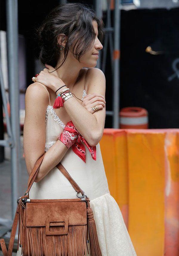 leandra-medine-look-bandana-como-pulseira: