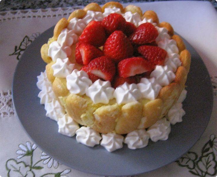 Tarta Charlota rusa...mira la receta