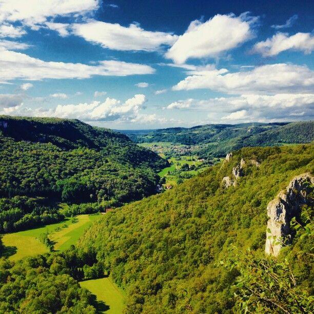 Vue magnifique du Jura