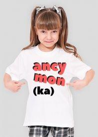 Koszulka dla dziewczynki Ancymonka