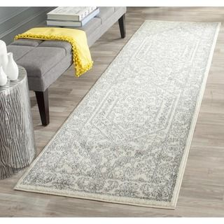 Shop for Safavieh Adirondack Ivory/ Silver Rug (2'6 x 8') and more for everyday…