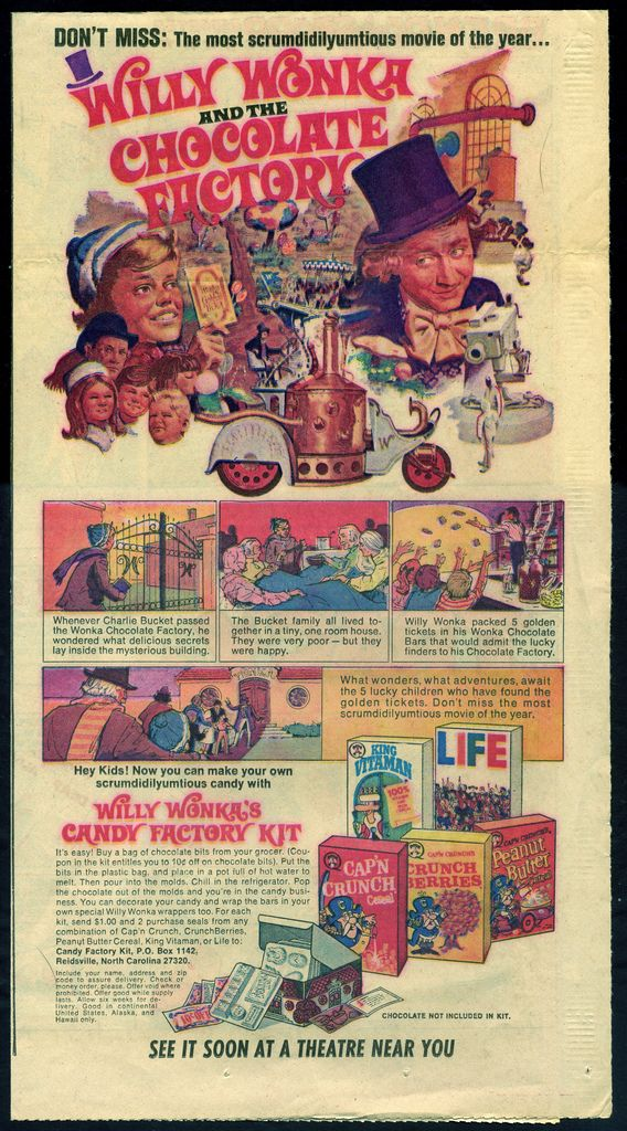 Quaker Cereal - Willy Wonka and the Chocolate Factory cand…   Flickr