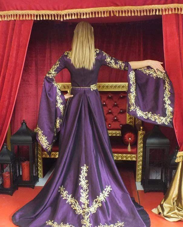 Hürrem Sultan Bindallı Kına Gecesi Kıyafeti Kaftan Müge