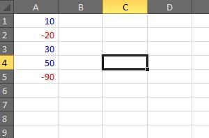 Dica: Deixando a cor vermelha para números negativos   ZePlanilha.com - Tutoriais, Planilhas e Dicas sobre Excel