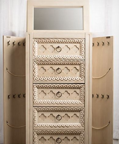 *HOT* Jewelry Armoires Starting at $49.99 (High Quality Standing Jewelry Box) - Raining Hot Coupons
