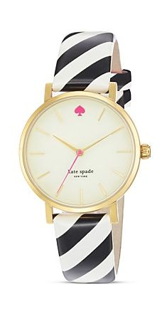 Kate Spade Watch #girly #accessories <3<3 For tips and advice on #trends and fashion, Visit http://www.makeupbymisscee.com/