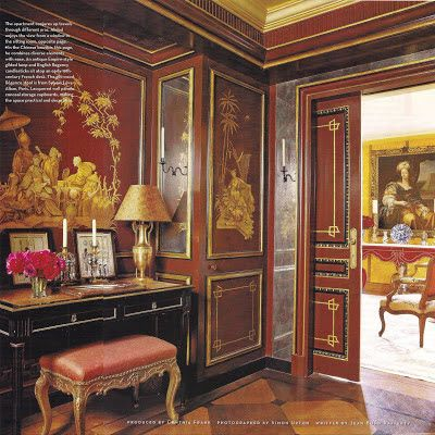 The Sitting Room Of A Parisian Apartment Decorated By Alidad