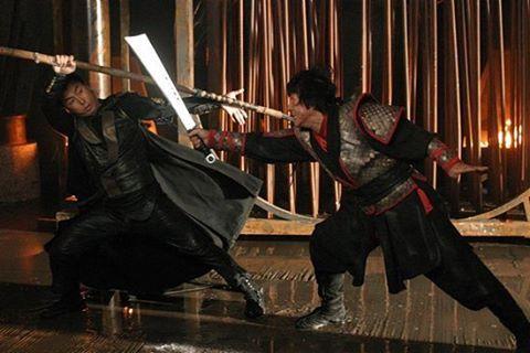 Jackie Chan vs Donnie Yen. Name the film